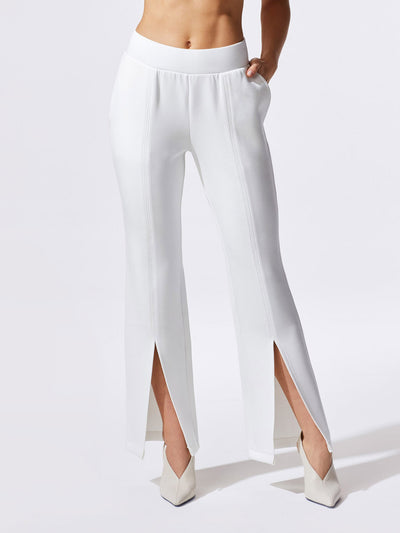 Releve Fashion Michi Ivory Lair Pant Ethical Designer Brand Sustainable Fashion Athleisure Activewear Athleticwear Positive Luxury Brands to Trust Purchase with Purpose Shop for Good