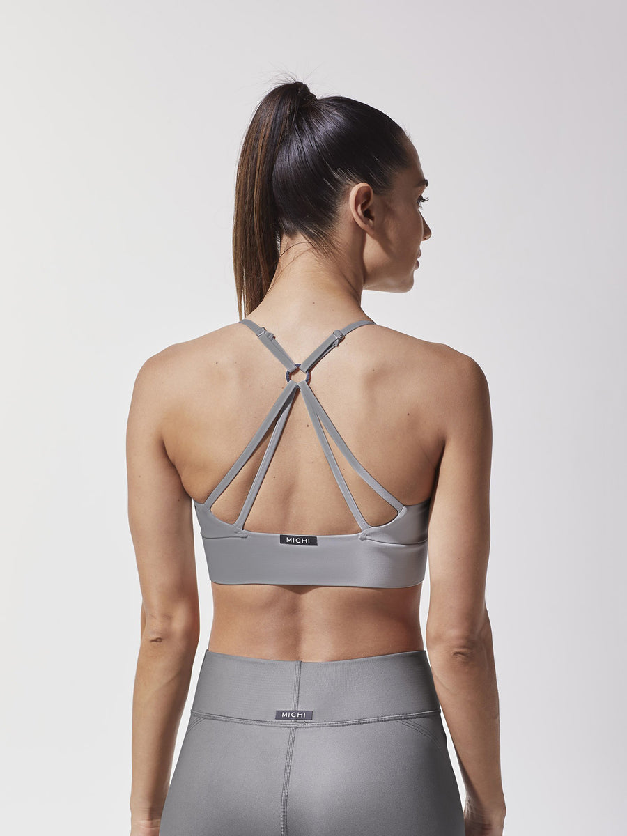 Releve Fashion Michi Platinum Medusa Bra Ethical Designer Brand Sustainable Fashion Swimwear Athleisure Activewear Athleticwear Positive Luxury Brands to Trust Purchase with Purpose Shop for Good