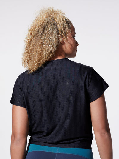 Releve Fashion Michi Black Mistral Top Ethical Designer Brand Sustainable Fashion Athleisure Activewear Athleticwear Positive Luxury Brands to Trust Purchase with Purpose Shop for Good