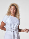 Releve Fashion Michi White Mistral Top Ethical Designer Brand Sustainable Fashion Athleisure Activewear Athleticwear Positive Luxury Brands to Trust Purchase with Purpose Shop for Good