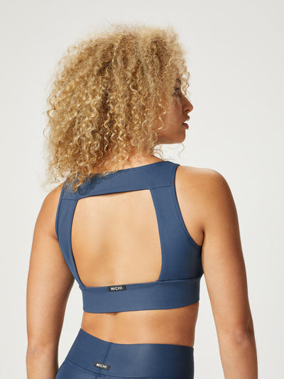 Releve Fashion Michi Ink Powerful Sports Bra Ethical Designer Brand Sustainable Fashion Athleisure Activewear Athleticwear Positive Luxury Brands to Trust Purchase with Purpose Shop for Good