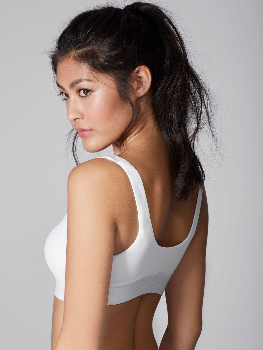 Pulse Bra, White