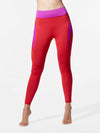 Releve Fashion Michi Magenta Fire Red Raven Leggings Ethical Designer Brand Sustainable Fashion Athleisure Activewear Athleticwear Positive Luxury Brands to Trust Purchase with Purpose Shop for Good