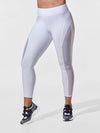 Releve Fashion Michi White Raven Legging Ethical Designer Brand Sustainable Fashion Athleisure Activewear Athleticwear Positive Luxury Brands to Trust Purchase with Purpose Shop for Good
