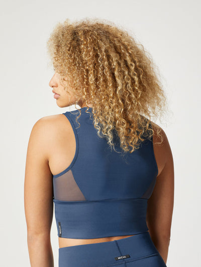 Releve Fashion Michi Ink Rise Bustier Ethical Designer Brand Sustainable Fashion Athleisure Activewear Athleticwear Positive Luxury Brands to Trust Purchase with Purpose Shop for Good