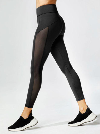 Releve Fashion Michi Black Stardust Legging Ethical Designer Brand Sustainable Fashion Athleisure Activewear Athleticwear Positive Luxury Brands to Trust Purchase with Purpose Shop for Good