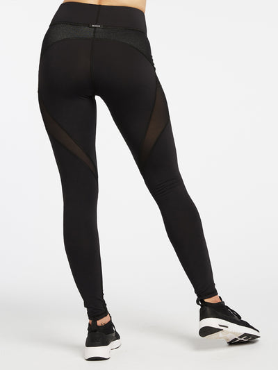 Releve Fashion Michi Black Mirage Legging Activewear Athleisure Wear Ethical Designers Sustainable Fashion Brands Purchase with Purpose Shop for Good '