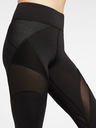 Releve Fashion Michi Black Mirage Legging Activewear Athleisure Wear Ethical Designers Sustainable Fashion Brands Purchase with Purpose Shop for Good