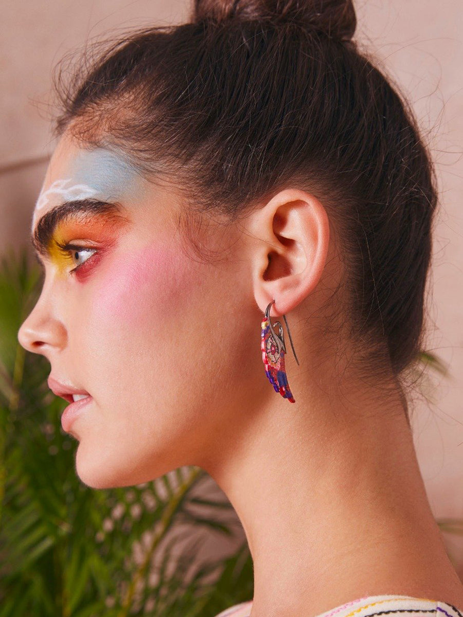 Noor Fares x Muzungu Sisters Earrings Wing III