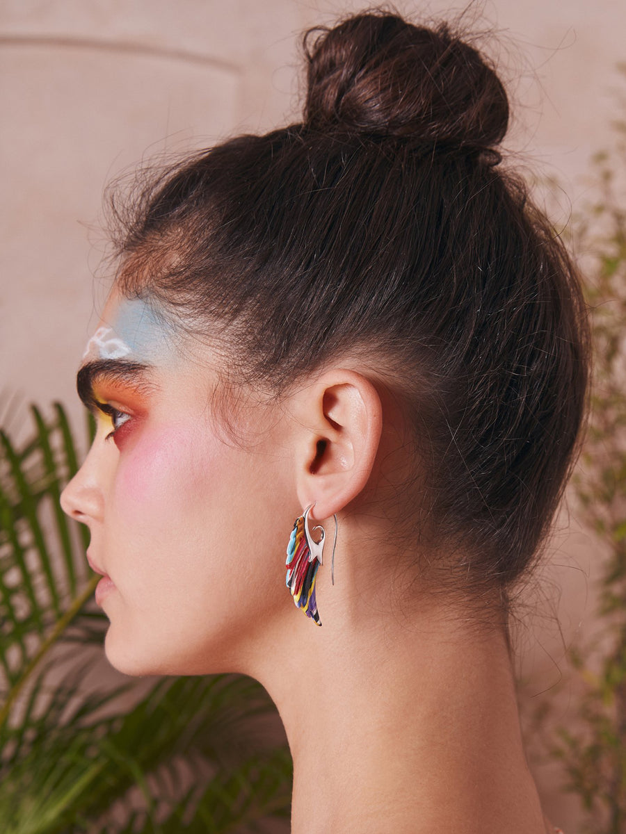 Noor Fares x Muzungu Sisters Earrings Wing II