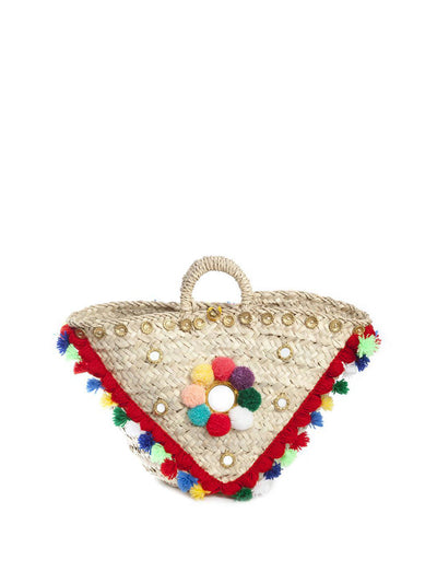 Releve Fashion Muzungu Sisters Multicolour Sicilian Basket Ethical Designers Sustainable Fashion Brand Handmade Artisanal Positive Fashion Purchase with Purpose Shop for Good