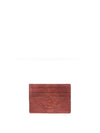 Releve Fashion Cardholder Mid Brown Ostrich