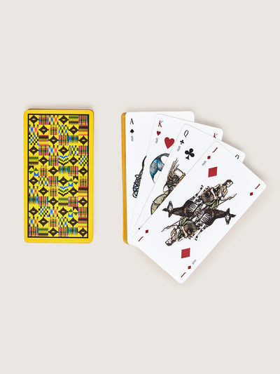 Releve Fashion Okapi Playing Cards Sustainable Ethical Fashion Brand Positive Luxury Positive Fashion Purchase with Purpose Shop for Good