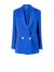Nomade Linen Suit Jacket, Blue