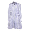 Releve Fashion Oramai London Amalfi Short Dress Striped Ethical Designers Sustainable Fashion Brands Eco-Age Brandmark Purchase with Purpose Shop for Good