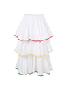 Releve Fashion Oramai London Dream Set Linen Skirt White Ethical Designers Sustainable Fashion Brands Eco-Age Brandmark Purchase with Purpose Shop for Good