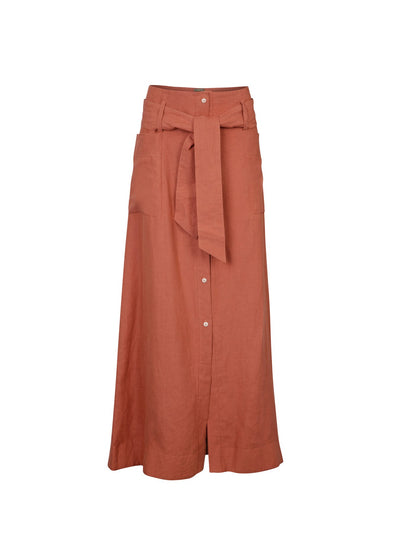 Releve Fashion Oramai London Lamu Skirt Earth Ethical Designers Sustainable Fashion Brands Eco-Age Brandmark Purchase with Purpose Shop for Good