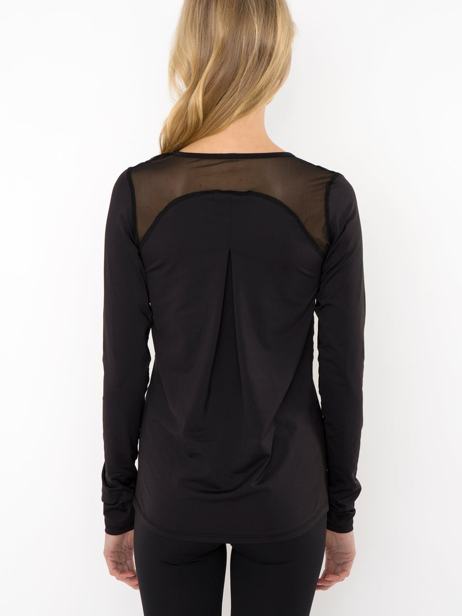 Releve Fashion Pama London Black Malibu Top Ethical Designers Sustainable Fashion Brand Activewear Athleticwear Athleisure Yoga Positive Fashion Purchase with Purpose Shop for Good