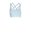 Releve Fashion Pama London Baby Blue Chakra Bra Ethical Designers Sustainable Fashion Brand Activewear Athleticwear Athleisure Yoga Positive Fashion Purchase with Purpose Shop for Good