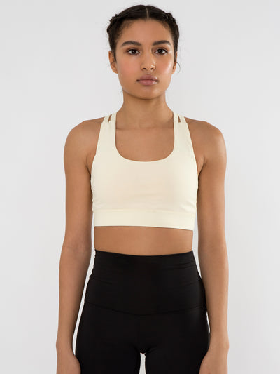 Releve Fashion Pama London Yellow Chakra Bra Ethical Designers Sustainable Fashion Brand Activewear Athleticwear Athleisure Yoga Positive Fashion Purchase with Purpose Shop for Good