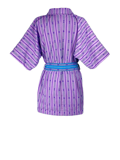 Releve Fashion Saba Dress Lilac Purple Ethical Designer Sustainable Fashion Brand Handmade Artisan Clothing Purchase with Purpose Shop for Good