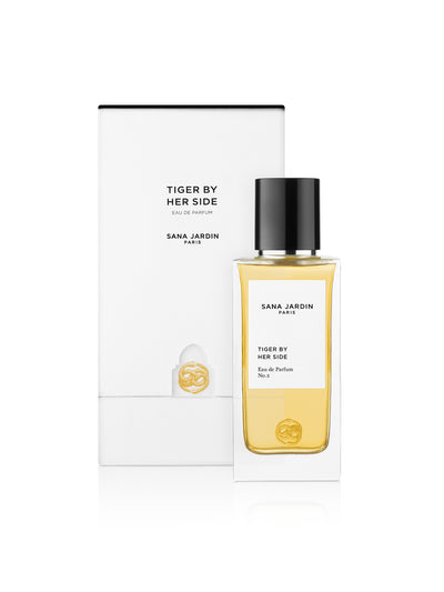 Releve Fashion Sana Jardin Shop Buy Now Sustainable Fashion Ethical Fashion Positive Fashion Positive Luxury Brand Fragrance Perfume Lifestyle Tiger by Her Side