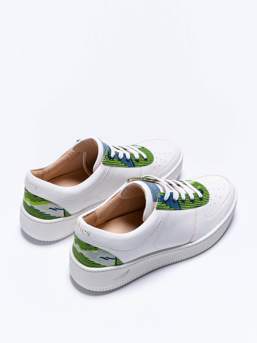 Retro Green Trainers