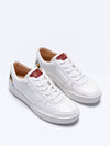 Releve Fashion Wibes Retro White Floral Trainers Sneakers Ethical Designers Sustainable Fashion Brands Purchase with Purpose Shop for Good