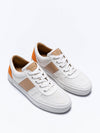 Releve Fashion Wibes White Orange and Beige City Exotique Trainers Sneakers Ethical Designers Sustainable Fashion Brands Purchase with Purpose Shop for Good