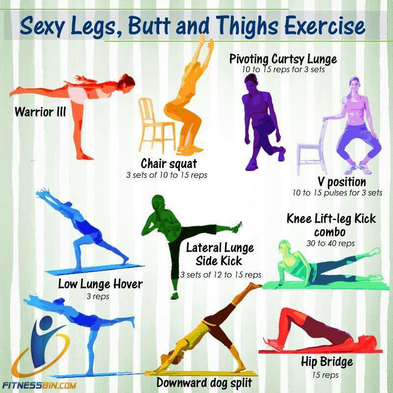 Sexy Legs, Butt and Thigh Exercises