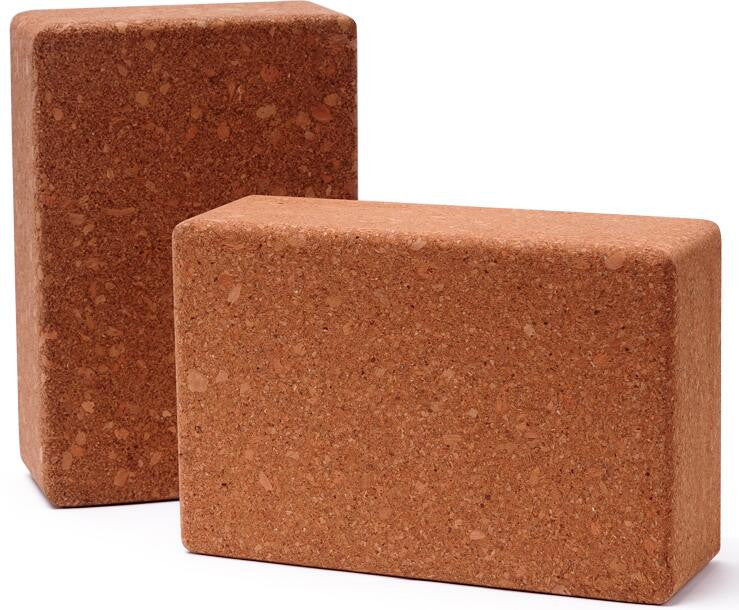 Natural Cork Yoga Brick Block