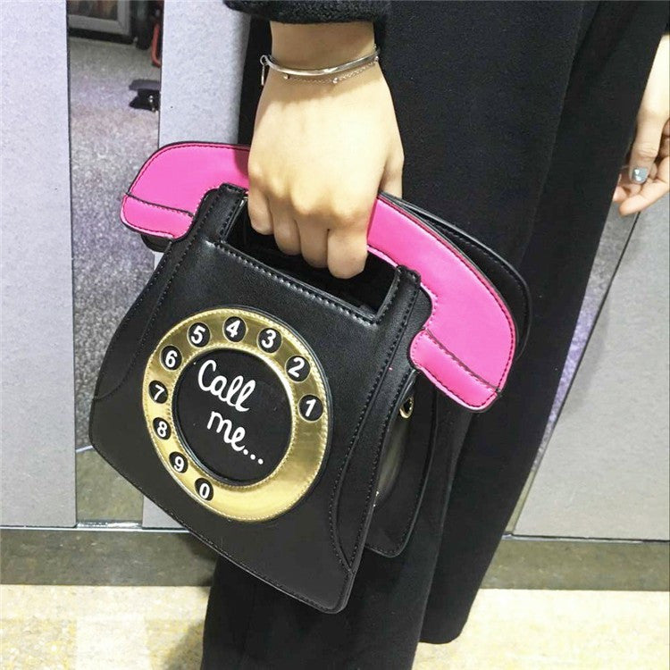 phone-shape-bag-funny-bag-womens-pu-handbags-telephone-shaped-designer-cute-bag-mini-crossbody-bags-personality-black