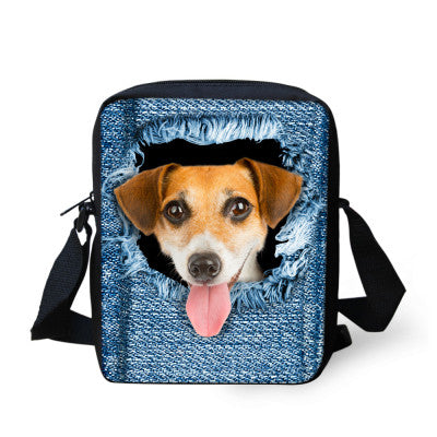 animal-print-messager-bag-dog-doggie-cute-3d