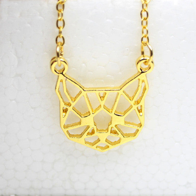 cute-origami-cat-pendant-necklace-2-colours-gold