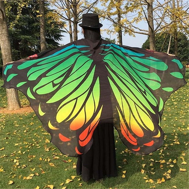 Pashmina Butterfly Wing Scarf - 23 Designs!