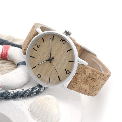 bamboo-unisex-watch-dial-with-cork-leather-band-two-designs