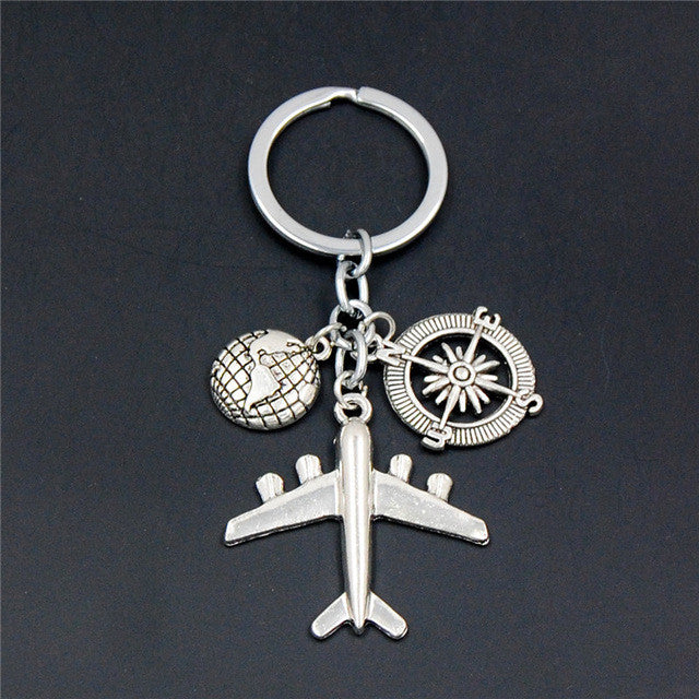 earth-airplane-keychains-no-matter-where-pendant-travel-keyring-friendship-best-friend-jewelry-diy-handmade-close
