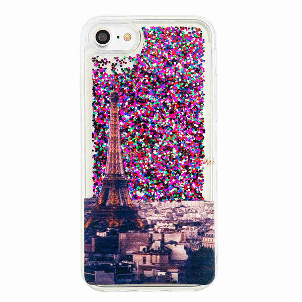 Stunning Dynamic Liquid Bling Sequin Phone Cases - For iPhone 6 7 6S Case!