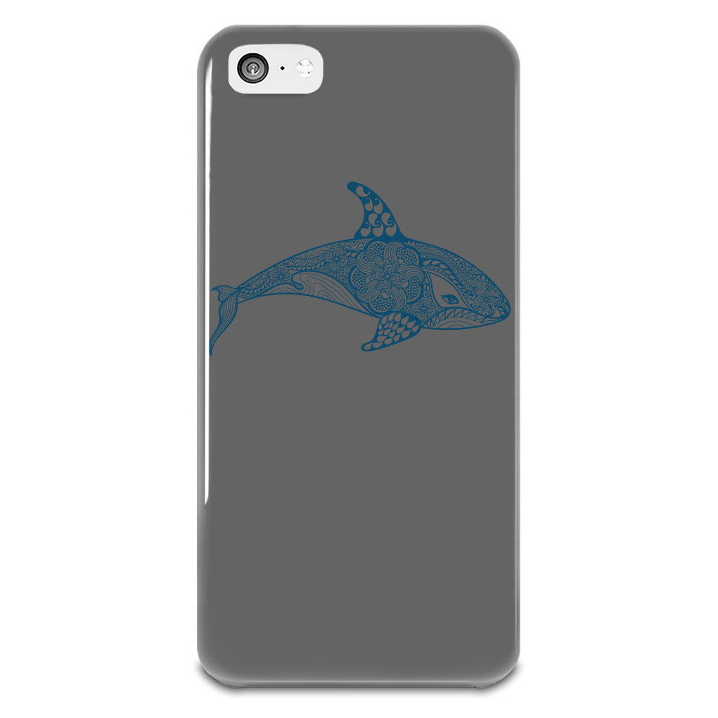 killer-whale-iphone-5-5s-plastic-case-grey