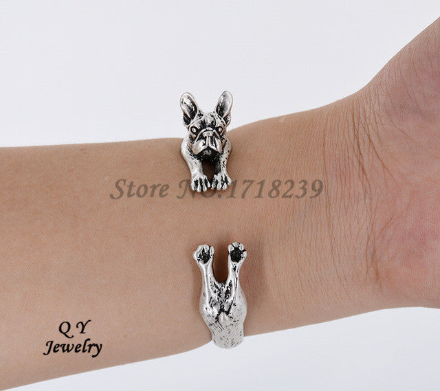 french-bulldog-bangle-dog-silver