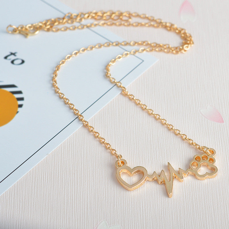 cat-dog-paw-electrocardiogram-necklaces-2-colours-gold