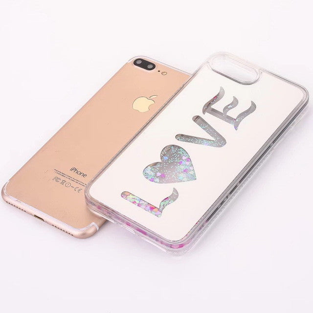 dreams-love-sparkle-quicksand-glitter-liquid-iphone-covers-love-pink