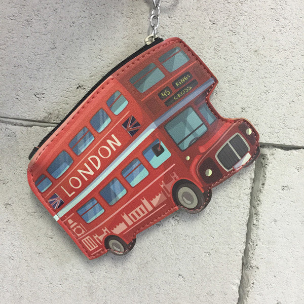 funny-cartoon-mini-wallet-girls-keychain-card-holders-leather-bus-camera-smile-lipstick-zipper-change-wallet-childern-purse-bus