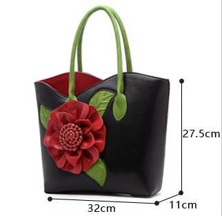 lovely-floral-tote-6-colours-black