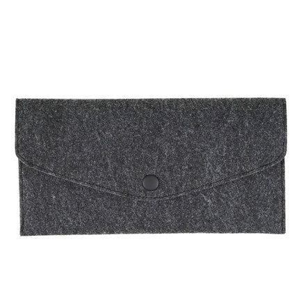 chemical-fiber-long-paragraph-handmade-women-wallet-black