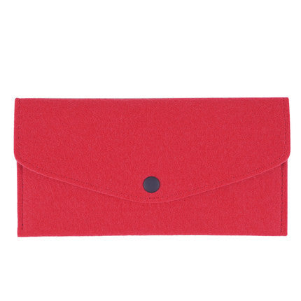 chemical-fiber-long-paragraph-handmade-women-wallet-red