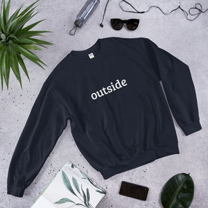 Outside sweatshirt