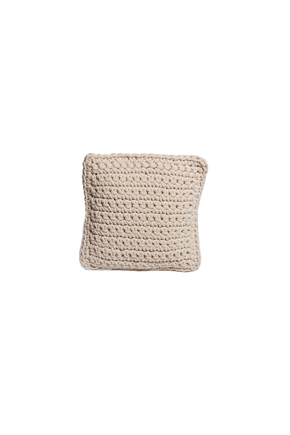 Carolina K Crochet Square Pillow