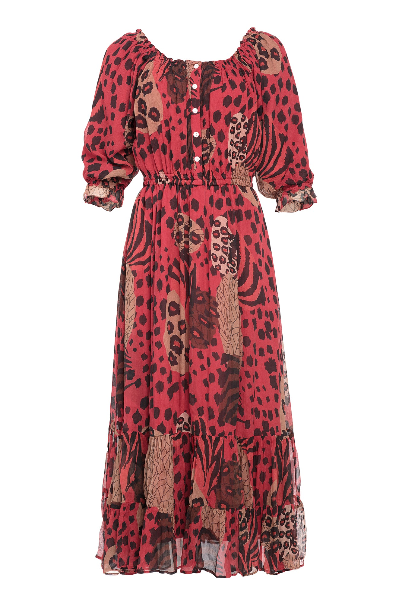 Carolina K Alexa Dress Haute Jungle