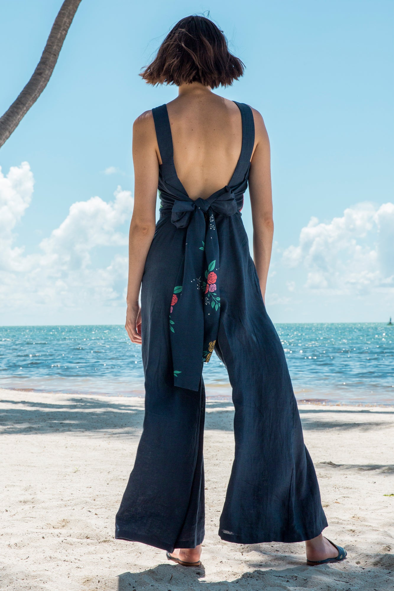 Carolina K Bow Jumpsuit